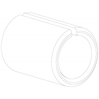 Bushing E080 d=19/11mm